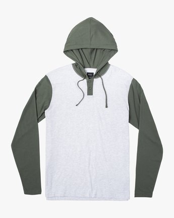 0 PICK UP II HOODIE Green M9593RPU RVCA