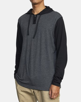 2 PICK UP II HOODIE Black M9593RPU RVCA