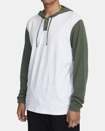 2 PICK UP II HOODIE Green M9593RPU RVCA