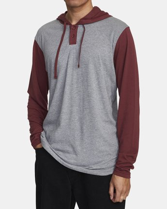2 PICK UP II HOODIE Red M9593RPU RVCA