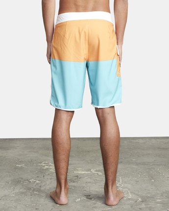 "3 EASTERN BOARDSHORT 20"" Orange MA117EAS RVCA"