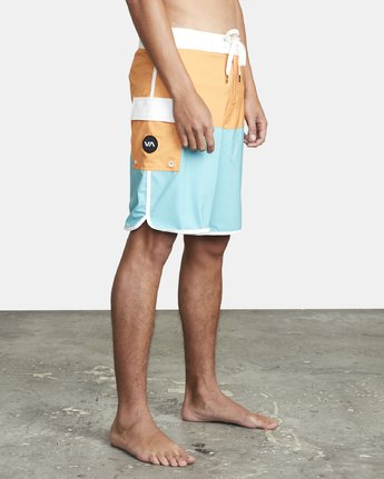 "7 EASTERN BOARDSHORT 20"" Orange MA117EAS RVCA"