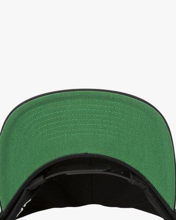 1 RVCA Twill Snapback III Hat Black MAAHWRSB RVCA