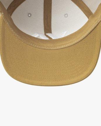 3 VA Snapback II Hat Grey MAAHWVAS RVCA