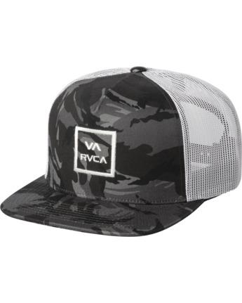 0 VA ATW TRUCKER HAT Black MAAHWVWY RVCA