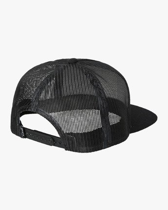 1 VA All The Way Trucker Hat III Black MAAHWVWY RVCA