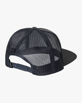 1 VA All The Way Trucker Hat III Grey MAAHWVWY RVCA