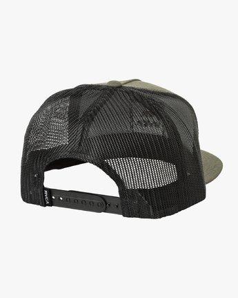 1 VA All The Way Trucker Hat III Green MAAHWVWY RVCA