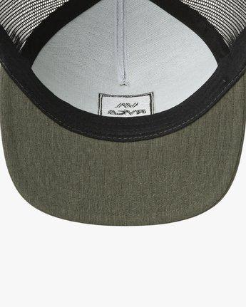 2 VA All The Way Trucker Hat III Green MAAHWVWY RVCA