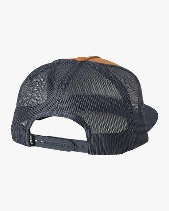 1 VA All The Way Trucker Hat III Yellow MAAHWVWY RVCA