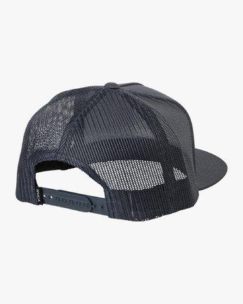 1 VA All The Way Trucker Hat III Blue MAAHWVWY RVCA