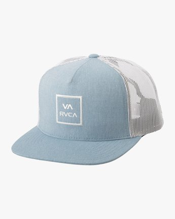 1 VA All The Way Trucker Hat III Blue MAAHWVWY RVCA