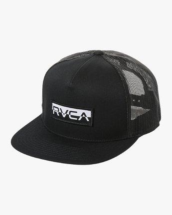 RVCA FLIPPED BOX TRUCKER  MAHW1RBF