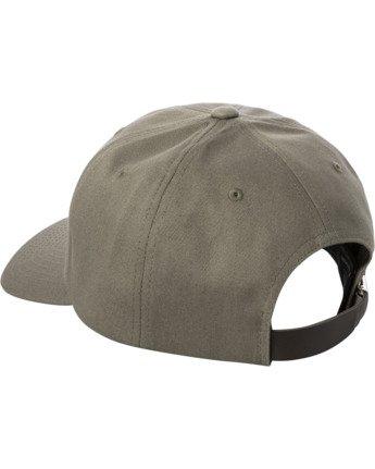 2 ANP CLASPBACK HAT Green MAHW3RAC RVCA