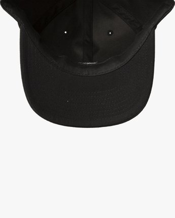 3 ANP CLASPBACK HAT Black MAHW3RAC RVCA