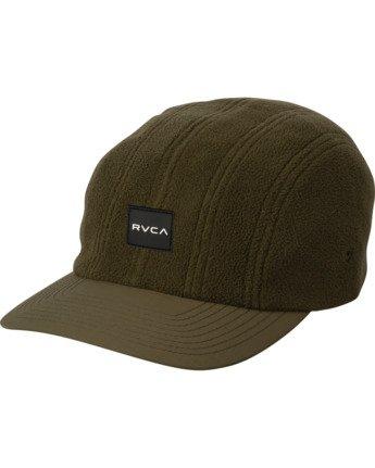 0 CUBE STRAPBACK HAT Green MAHW3RCS RVCA
