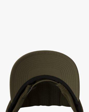 3 CUBE STRAPBACK HAT Green MAHW3RCS RVCA