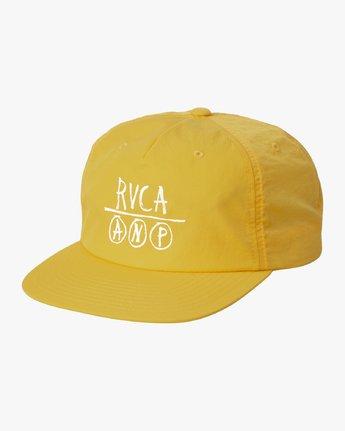 0 GRAPHIC ANP CAP Yellow MAHW3RGA RVCA
