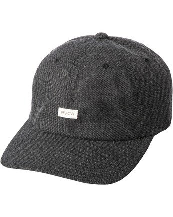 0 PALTA CLASPBACK HAT Black MAHW3RPC RVCA