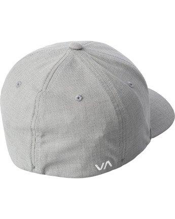 1 SHANE FLEXFIT HAT Grey MAHW3RSF RVCA