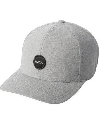 0 SHANE FLEXFIT HAT Grey MAHW3RSF RVCA