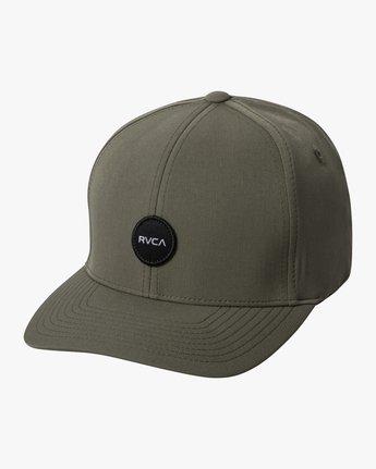0 SHANE FLEXFIT HAT Green MAHW3RSF RVCA