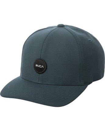 0 SHANE FLEXFIT HAT Blue MAHW3RSF RVCA