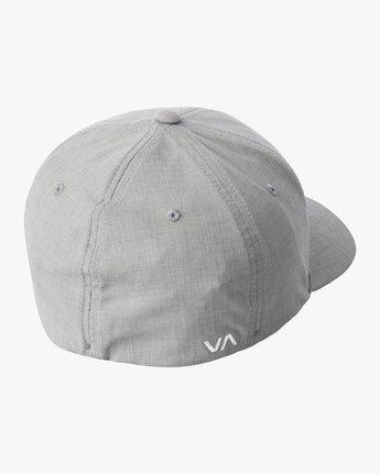 3 SHANE FLEXFIT HAT Grey MAHW3RSF RVCA