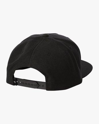 3 STANLEY SNAPBACK HAT Black MAHW3RSS RVCA