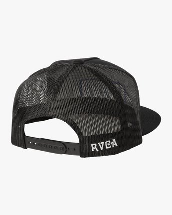 1 THANKS TRUCKER Black MAHW3RTT RVCA