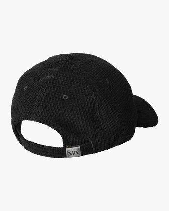 1 UNIVERSITY CAP Black MAHW3RUC RVCA