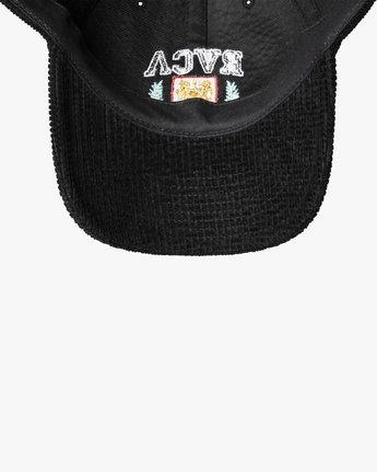 2 UNIVERSITY CAP Black MAHW3RUC RVCA