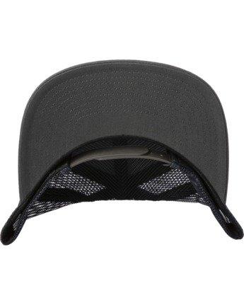 3 VA ATW PRINT TRUCKER HAT Grey MAHW3RVP RVCA