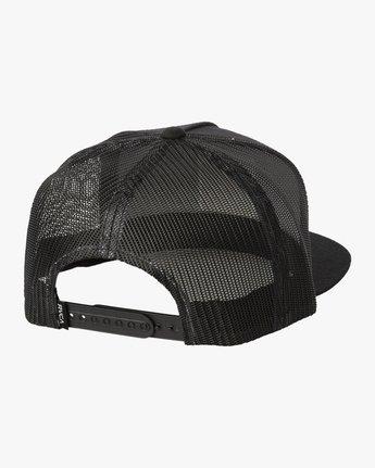 3 VA ATW PRINT TRUCKER HAT Black MAHW3RVP RVCA
