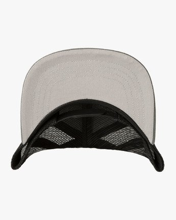 2 Island Patch Trucker Hat Grey MAHWNRIP RVCA