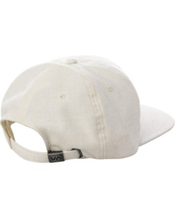 1 TONALLY EMBROIDERED HAT White MAHWQRTL RVCA