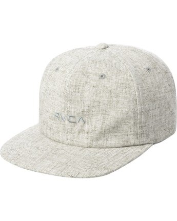 0 TONALLY EMBROIDERED HAT Grey MAHWQRTL RVCA