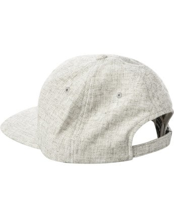 2 TONALLY EMBROIDERED HAT Grey MAHWQRTL RVCA