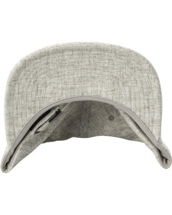 3 TONALLY EMBROIDERED HAT Grey MAHWQRTL RVCA