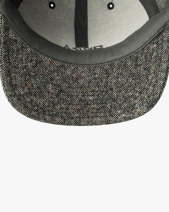 2 Tonally Embroidered Cap Black MAHWQRTL RVCA