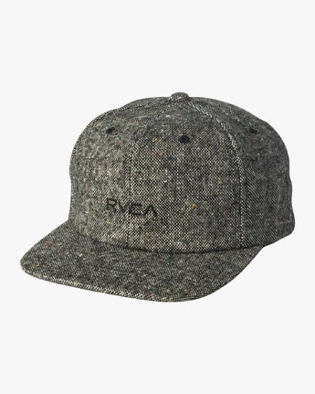 0 Tonally Embroidered Cap Black MAHWQRTL RVCA