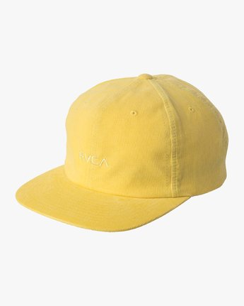 0 Tonally Embroidered Cap Yellow MAHWQRTL RVCA