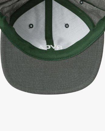 2 Tonally Embroidered Cap Green MAHWQRTL RVCA