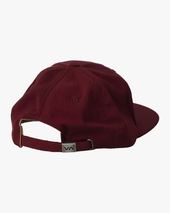 1 TONALLY EMBROIDERED HAT Purple MAHWQRTL RVCA