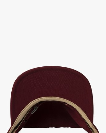 2 TONALLY EMBROIDERED HAT Purple MAHWQRTL RVCA