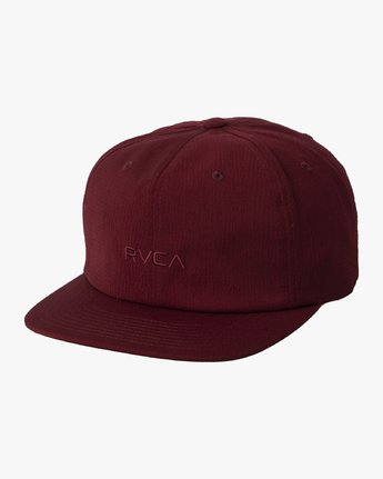 0 TONALLY EMBROIDERED HAT Purple MAHWQRTL RVCA