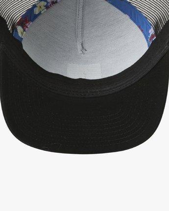 2 VA All The Way Printed Trucker Hat Black MAHWQRTP RVCA
