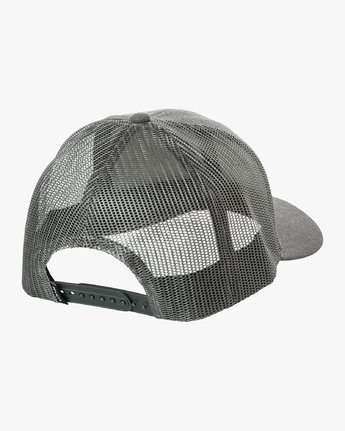 1 Ticket Trucker II Hat Grey MAHWQRTT RVCA