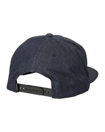 1 Camps Snapback Hat Blue MAHWTRCA RVCA