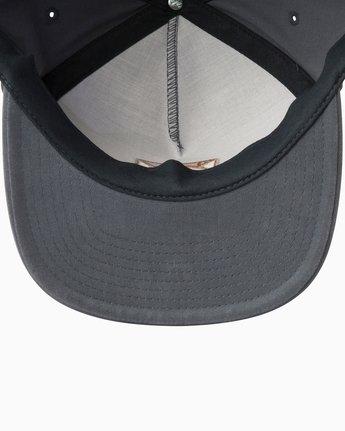 2 Cut Out Snapback Hat  MAHWTRCO RVCA